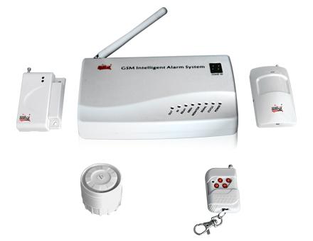 GSM防区显示防盗报警系统
