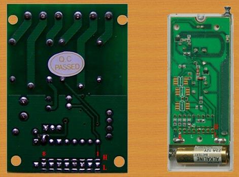 安防无线接收发射模块编码方法--防盗报警安全知识